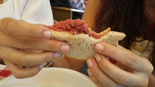 Füme Etli Sandviç