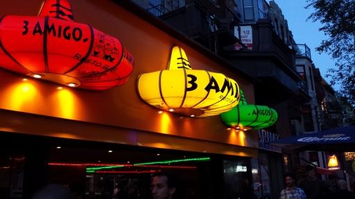 3 Amigos - Latin Quarter