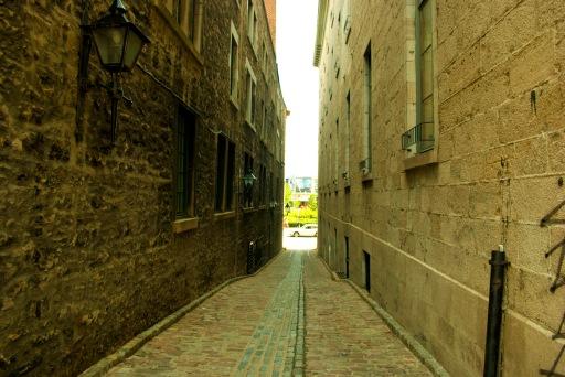 Eski Montreal Sokakları