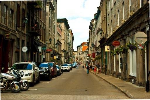 Old Montreal Sokakları