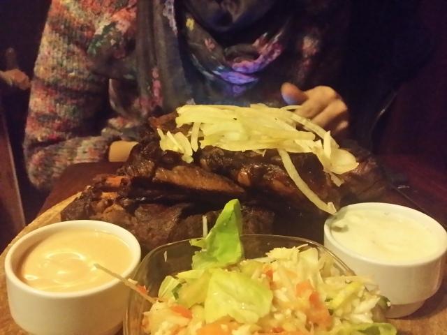 Ribs in Cafe de Klos